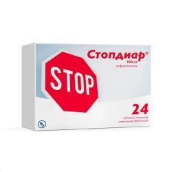 Стопдиар, табл. п/о пленочной 100 мг №24